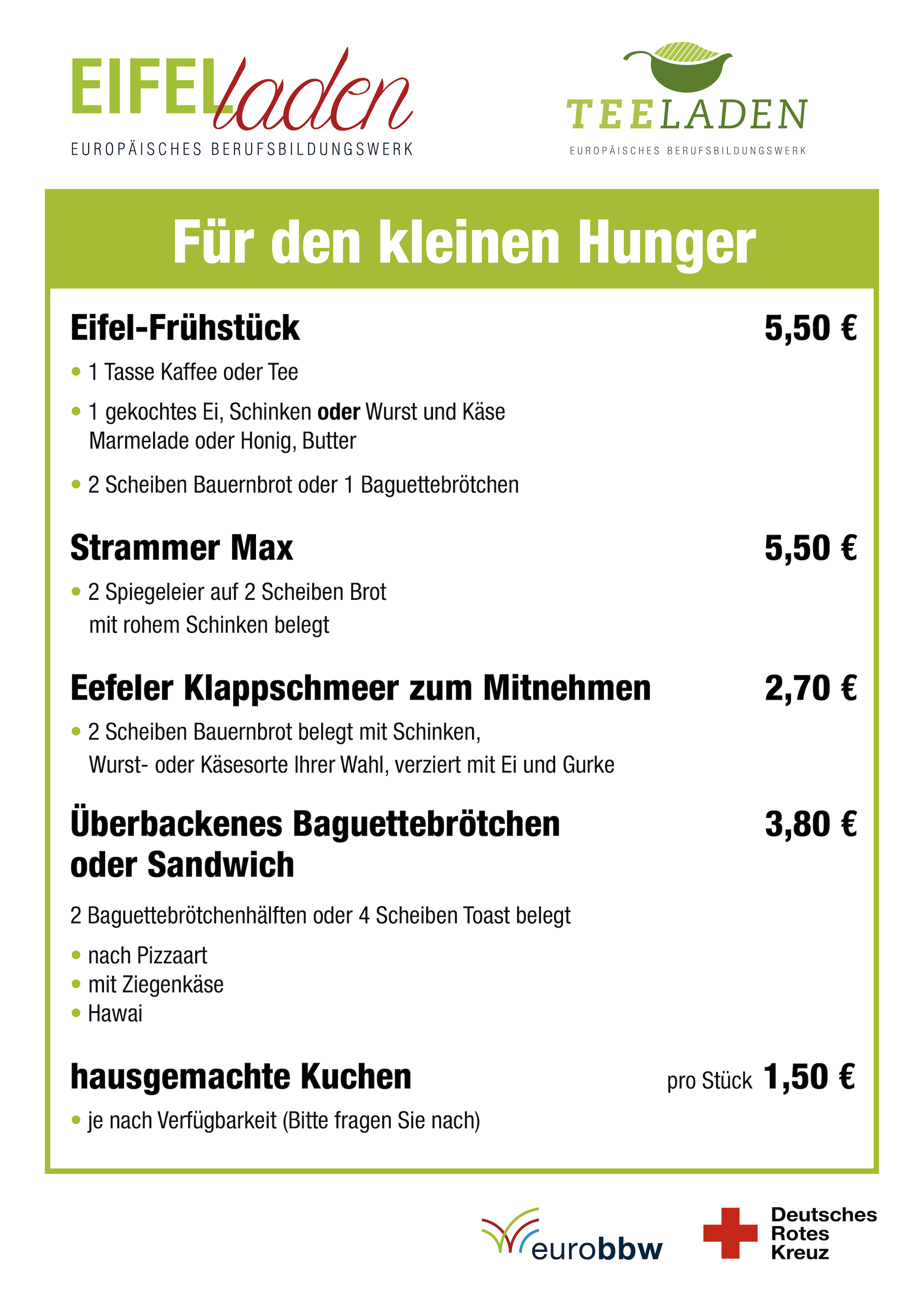 Deutsches BBW mit Gurke